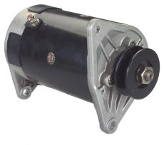 StarterGenerator  Hitachi type 25 Amp, 12 Volt, CCW Used On: Club Car FE290, FE350 Golf Carts