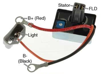 Delco Remy 12si Wiring Diagram D713l Plug In Voltage Regulator 10dn Series