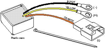 Ford, Lincoln & Mercury Alternator Voltage Regulator