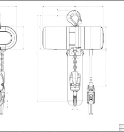 wiring diagram on cm lodestar product code 3507 cm lodestar electric chain hoist  [ 3437 x 2231 Pixel ]