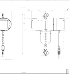1 ton cm chain hoist wiring diagram engine diagram and 2 ton electric chain hoist 2 ton coffing hoist parts [ 3437 x 2281 Pixel ]
