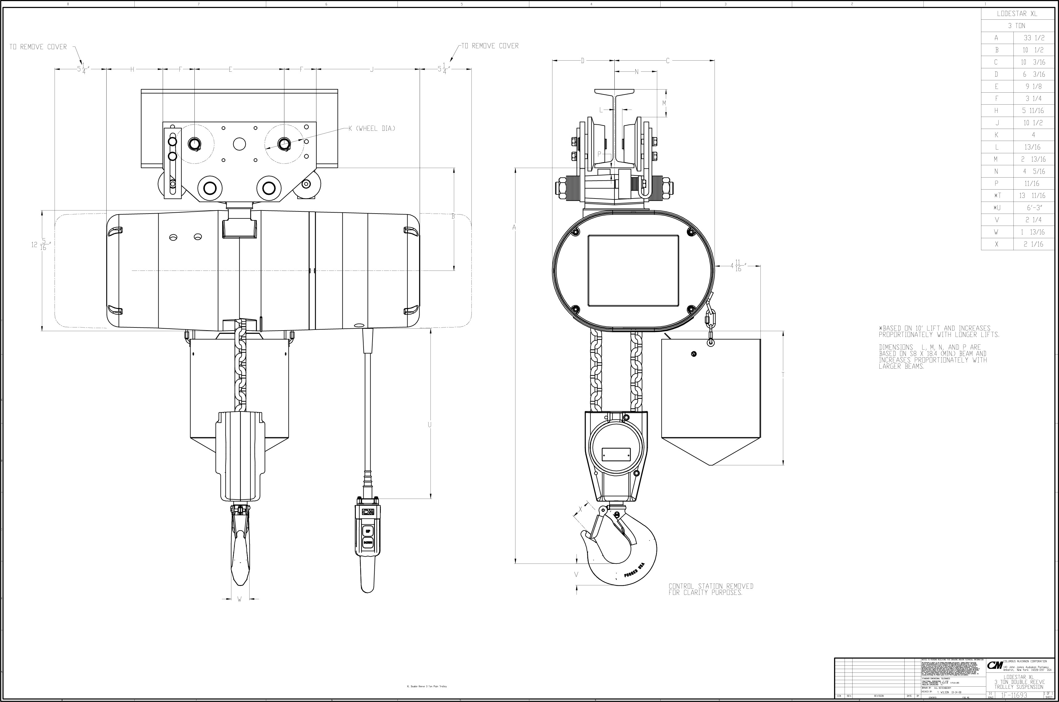 Diagram Cm Hoist Wiring Diagram 2 Speed Full Version Hd