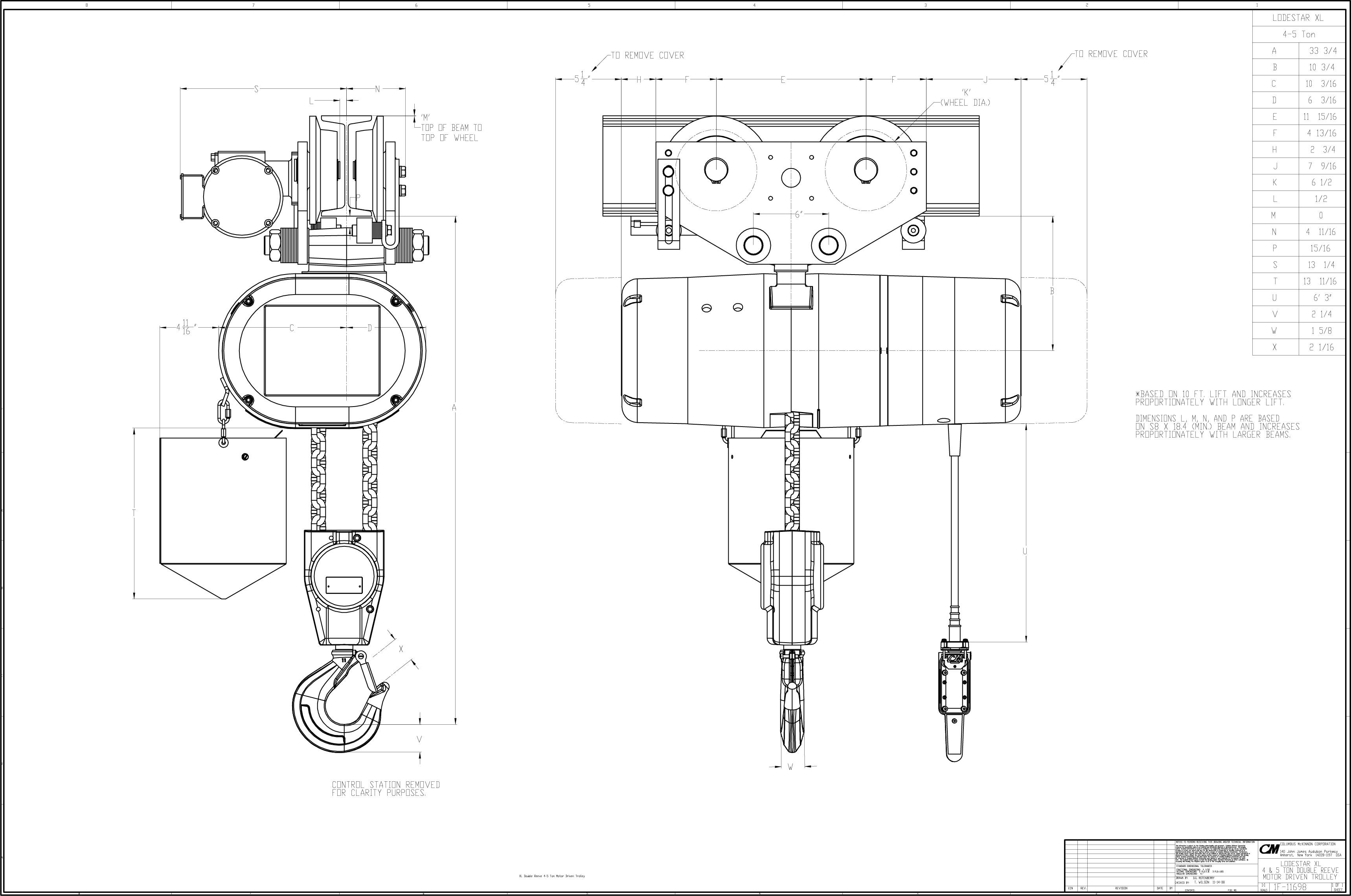 cm lodestar wiring diagram   wiring diagram on cm shopstar hoist