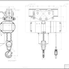 Coffing Hoist Wiring Diagram Of A 3 Way Switch 2 Ton Toyskids Co 5 Electric Chain Diagrams Images Motor Control