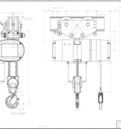 3 4 ton chain hoist diagram wiring diagrams chain fall hoist 3 4 ton chain hoist diagram [ 3437 x 2281 Pixel ]