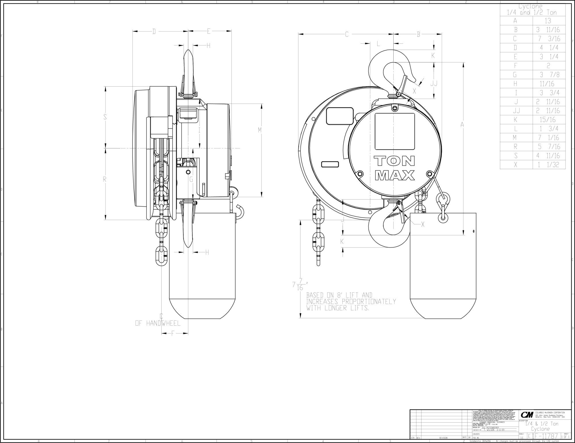 hight resolution of  cad image 1f11787 25 5 ton