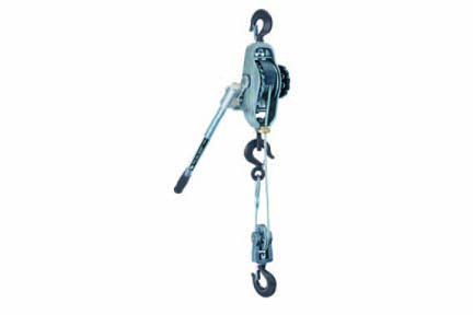CM Wire Rope Lever Hoist On American Crane & Equipment Corp.