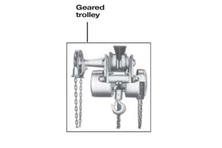 Product Code 4883, Cm Cyclone Low Headroom Hand Chain