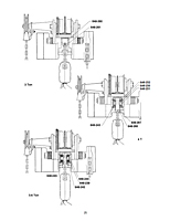 CM 5 Ton Series 648 Cyclone Low Headroom Trolley Hoist