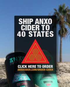 Ship ANXO Cider to 40 states
