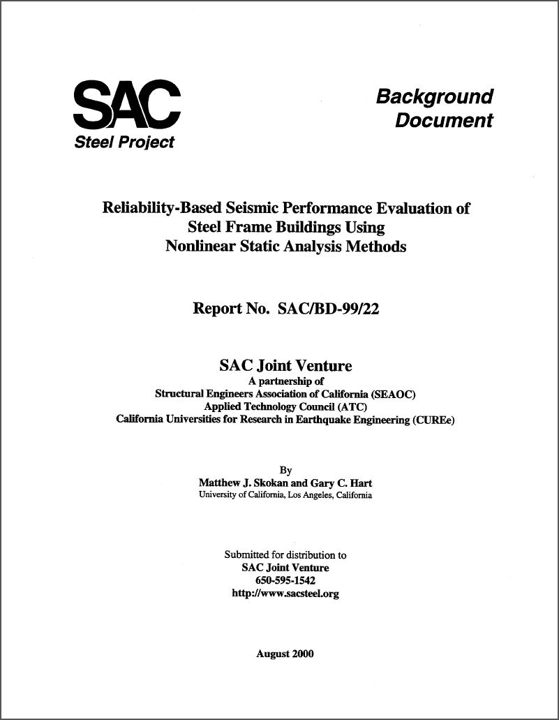 Reliability-Based Seismic Performance Evaluation Of Steel Frame Buildings  Using Nonlinear Static Analysis Methods