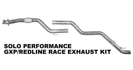Solo Performance Race Exhaust 2007-2009 Pontiac Solstice