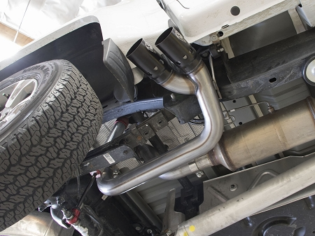 afe rebel series dpf back 3in side exit ss exhaust w ic black tip 2016 gm colorado canyon 2 8l td