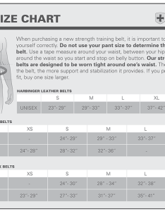 View size chart also padded leather belt by harbinger at bodybuilding best rh