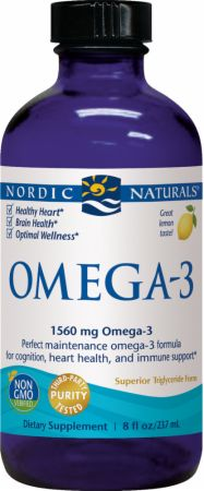 Omega-3 Liquid by Nordic Naturals On Sale at Bodybuilding ...