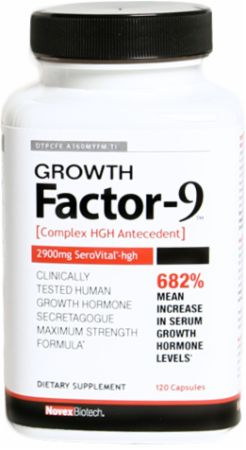 Growth Factor-9 by Novex Biotech at Bodybuilding.com ...