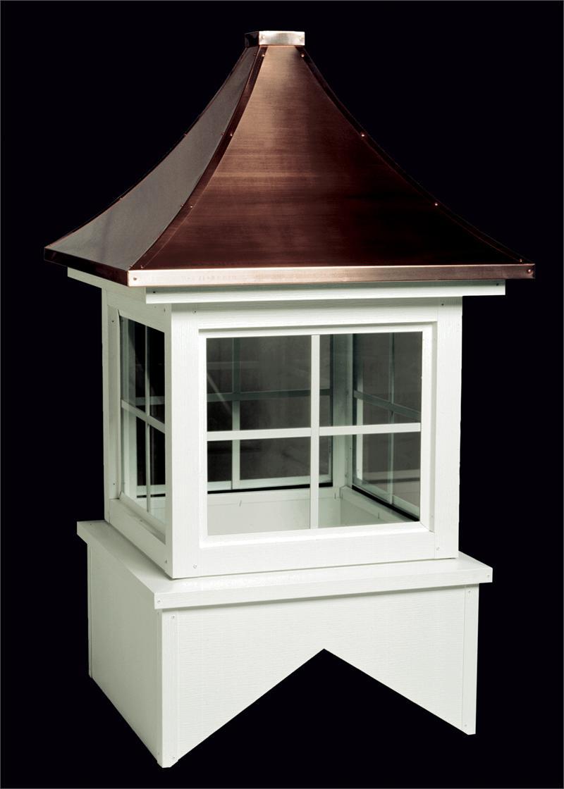Trenton Aluminum Glass Cupola with Copper Roof