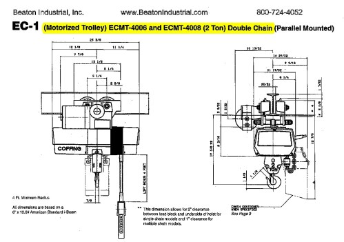 small resolution of coffing hoist wiring diagram jeffdoedesign com 480 3 phase wiring diagram 3 phase panel wiring diagram