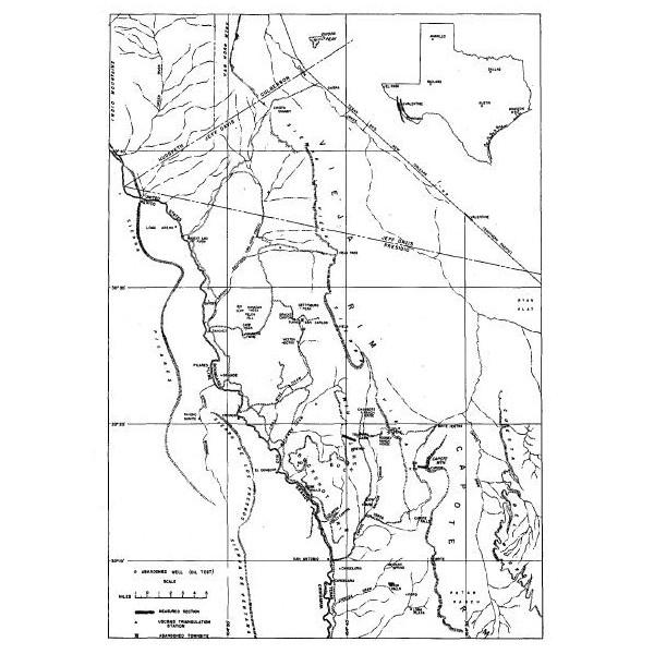 RI0036. Tertiary Formations of Rim Rock Country, Presidio