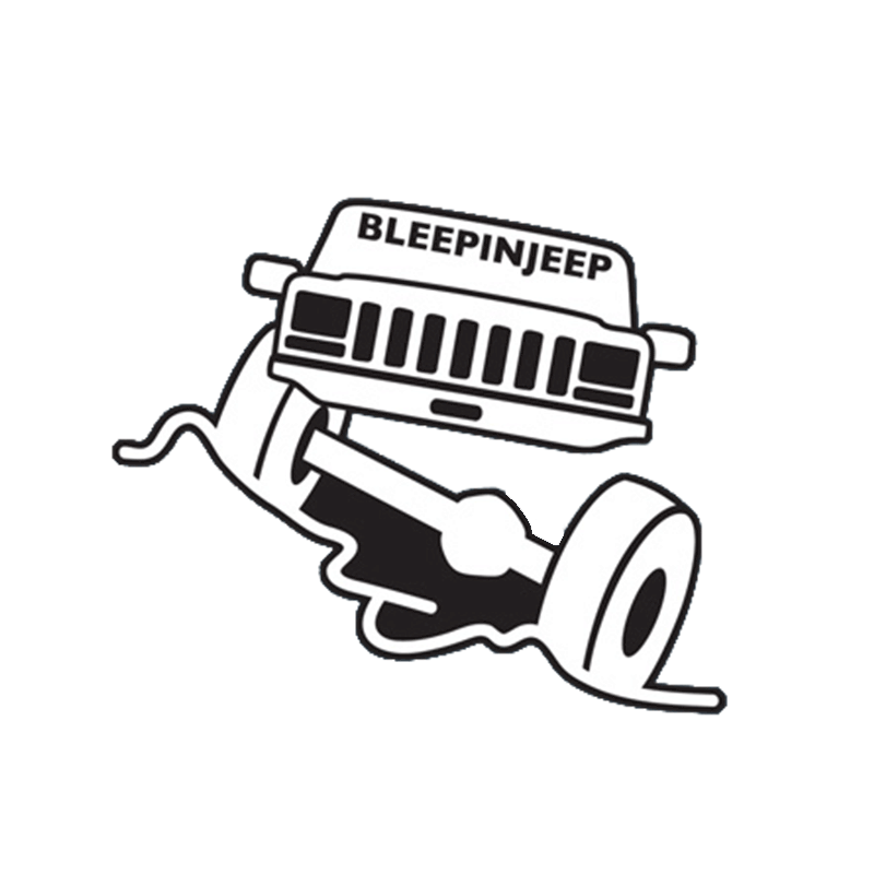 BleepinJeep Cherokee Vinyl Sticker