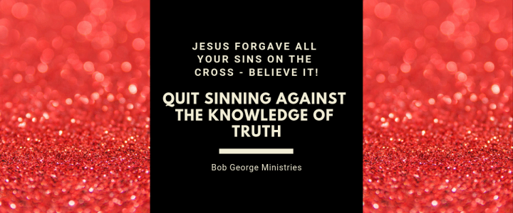 Jesus Forgave All Your Sins on the Cross