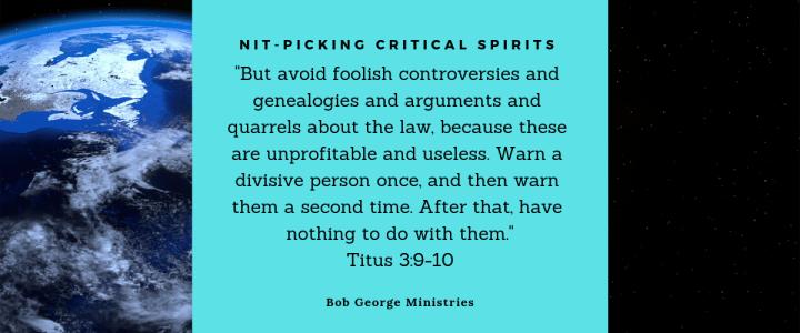Critical Spirits