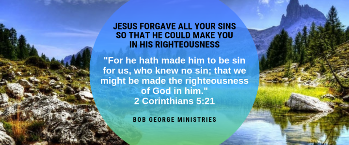Jesus is Our Righteousness in Him