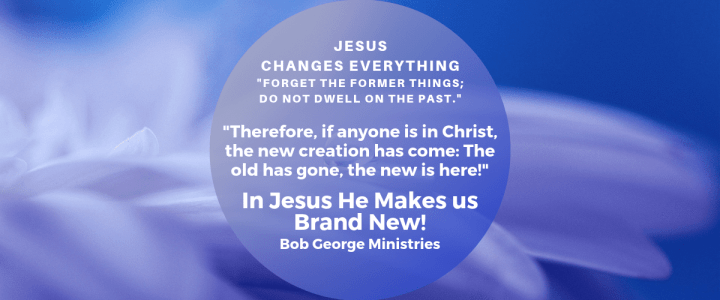 Jesus Makes us Brand New