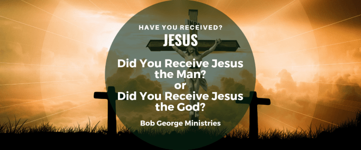 Receive Jesus God