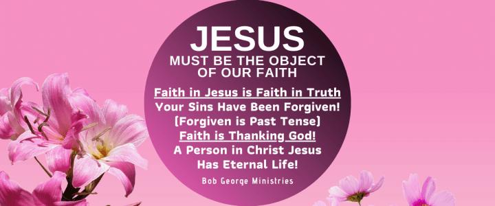 Faith in my God Jesus