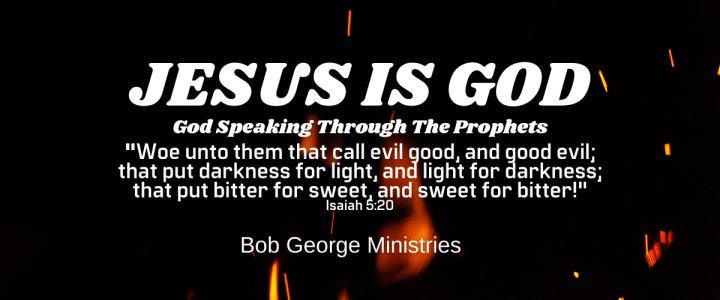 Jesus God Speaking Through the Prophets