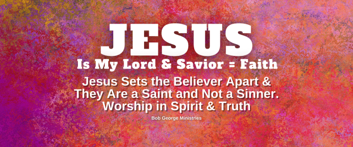Faith in Jesus Sets the Believer Apart