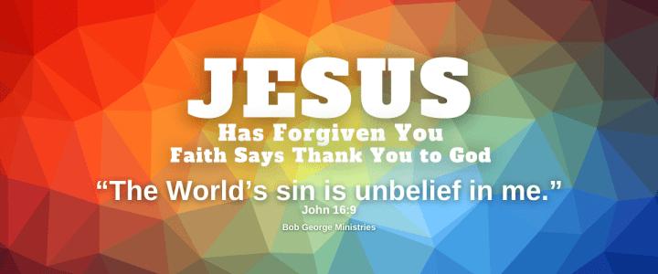 Faith Says Thank You to God Jesus