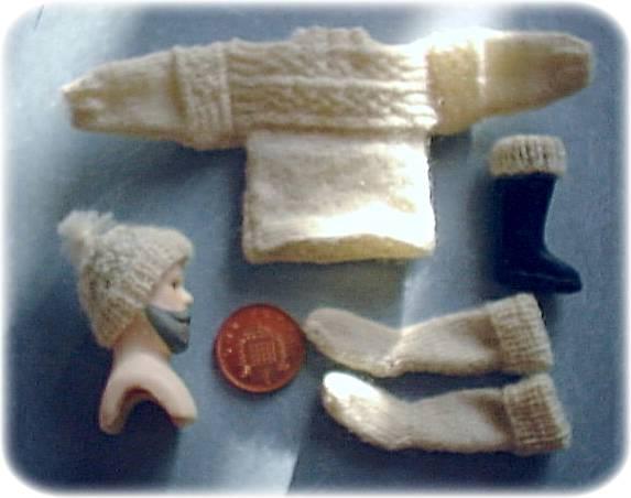 Miniature Fife Banded Gansay
