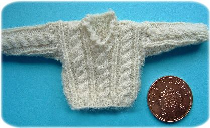 miniature knitting