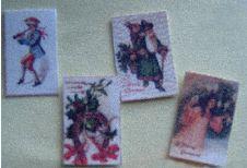 miniature Christmas cards