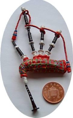 miniature bagpipes