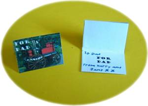 miniature cards