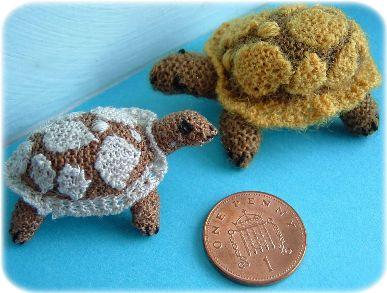 miniature tortoise toy