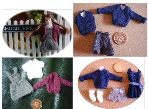 patterns for dolls school uniform
