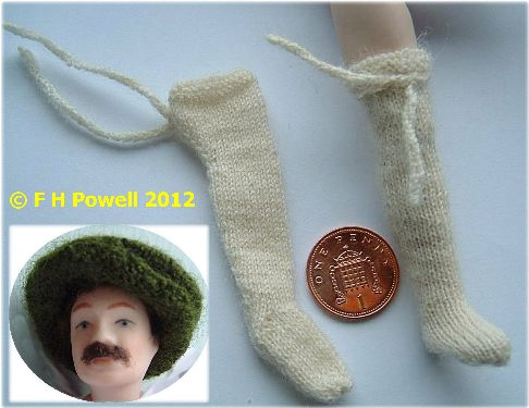 miniature knitting