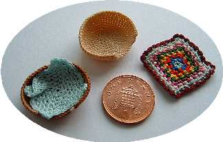 pattern for miniature pet basket