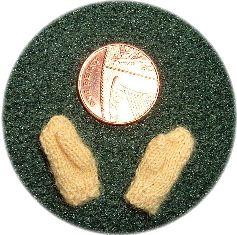 miniature mittens