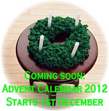 miniature advent wreath