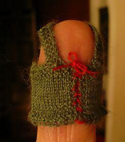 miniature waistcoat