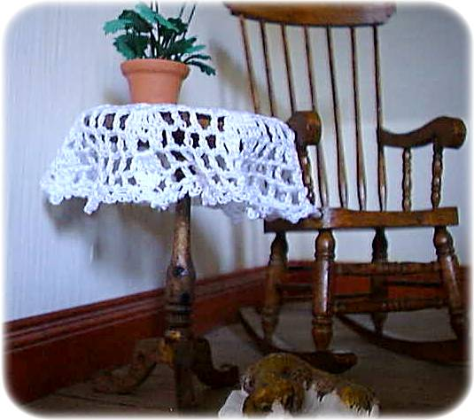 tablecloth for a dolls house