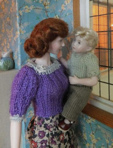 miniature dolls
