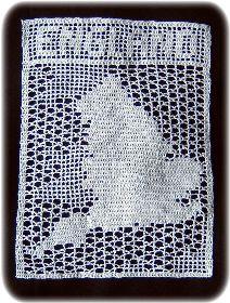 filet crochet map