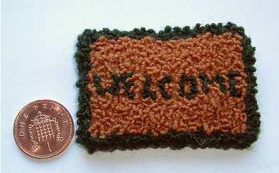 miniature rug