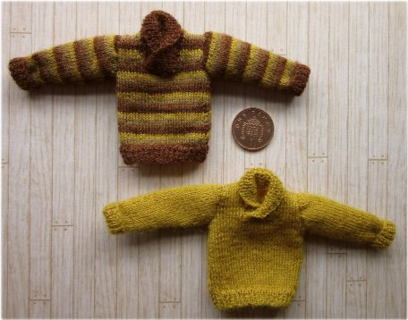 pattern for miniature jumpers